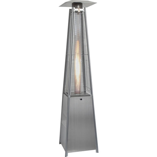Picture of Hanover 7-Ft. 42,000 BTU Pyramid Propane Patio Heater - Stainless Steel