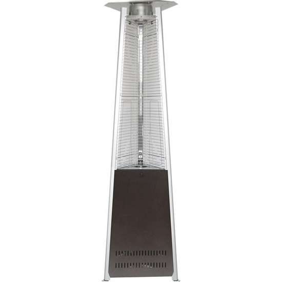 Picture of Hanover 7-Ft. 42,000 BTU Triangle Propane Patio Heater - Hammered Bronze