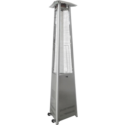 Picture of 7-Ft. 42,000 BTU Triangle Propane Patio Heater - Stainless Steel