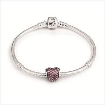 Picture of Chic Heart Bracelet7.8""