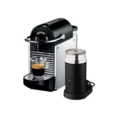 Picture of PIXIE + MILK Espresso Machine by De'Longhi