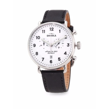 Picture of Men's Canfield Chrono Watch, 43mm - White Dial