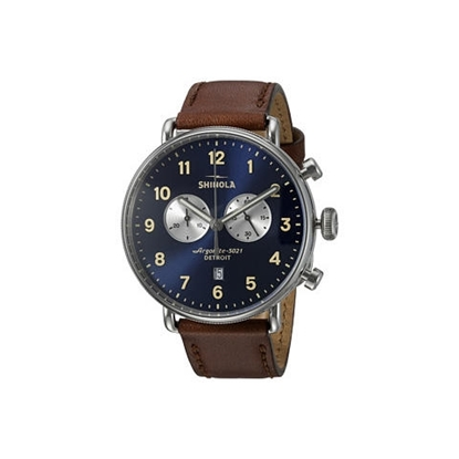 Picture of Men's Canfield Chrono Watch, 43mm - Blue Dial