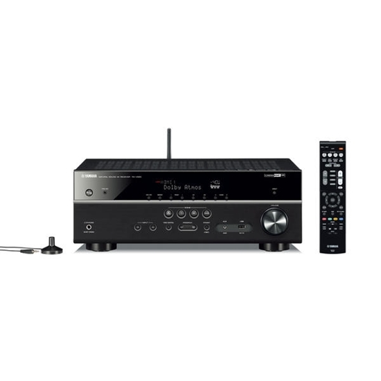 Picture of Yamaha® 7.2-Channel 4K Ultra HD Network AV Receiver with HDMI® Cable