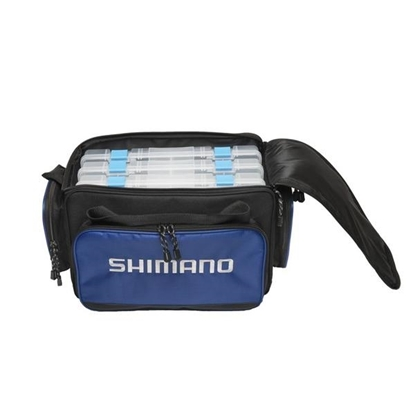 Picture of Shimano® Baltica Large Tackle Bag with Four Boxes