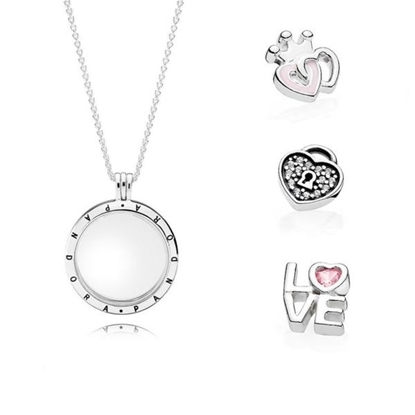 Picture of Forever Hearts Necklace Set