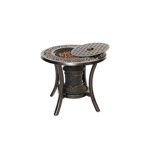 Picture of 10,000 BTU Fire Pit Side Table