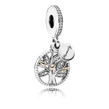 Picture of Pandora® Family Heritage Dangle Charm, Clear CZ