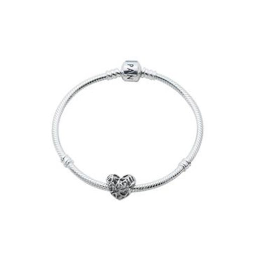 "Picture of Pandora® Moms Heart Bracelet, Size 7.9"""