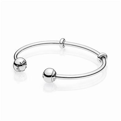Picture of Pandora® Open Bangle, Sterling Silver, Size 7.5""