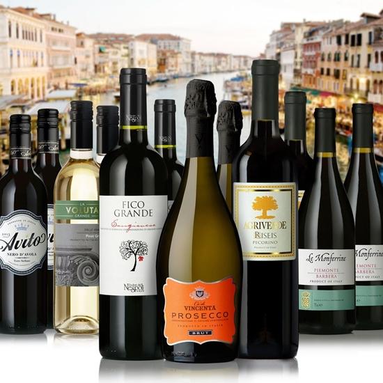 Picture of La Dolce Vita' Italian Wine Sampler 12-Pack