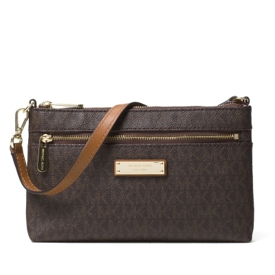 36168f82d517e MileagePlus Merchandise Awards. Michael Kors Jet Set Signature Large ...