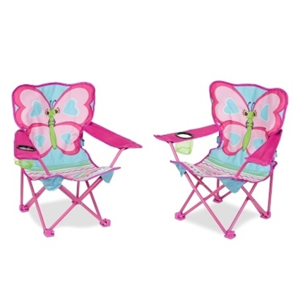 Picture of Melissa & Doug® Cutie Pie Butterfly Chairs - Set of 2