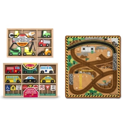 Picture of Melissa & Doug® Construction Rug Set