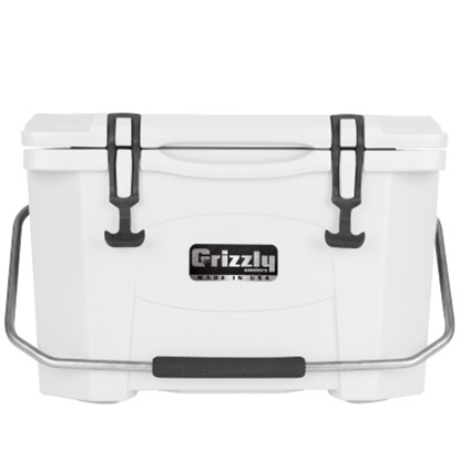 Picture of Grizzly 20-Qt. Cooler - White