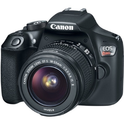 Picture of Canon 18.0MP Digital SLR Camera with 18-55mm Lens