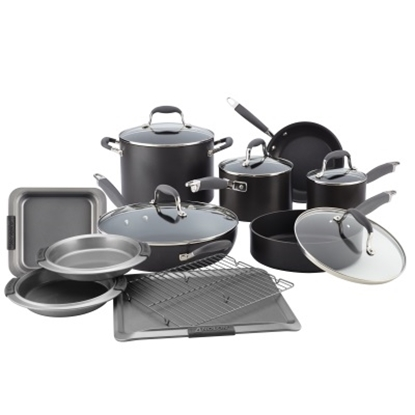 Picture of Anolon® 11-Piece Cookware Set & 5-Piece Bakeware Package