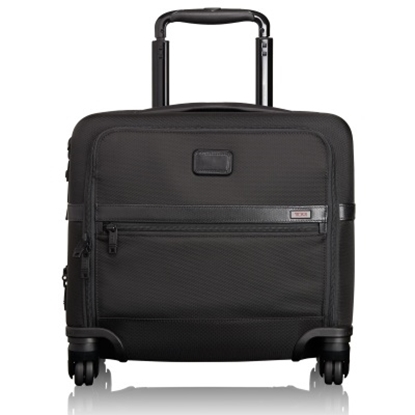 Picture of Tumi Alpha 2 Four-Wheeled Compact Brief - Black