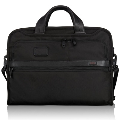 Picture of Tumi Alpha 2 Organizer Portfolio Brief - Black