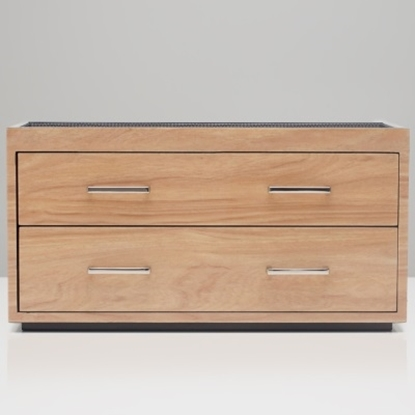 Picture of Wolf Meridian Two-Drawer Valet, Charging Station & Pen Box