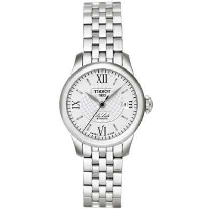 Picture of Tissot Le Locle Auto Lady Stainless Steel Watch w/ Silver Dial