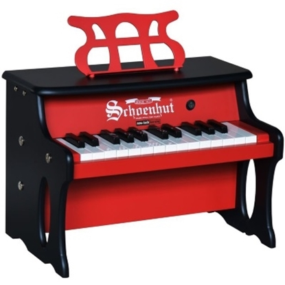 Picture of Schoenhut 25-Key Digital Table Top Piano - Red/Black