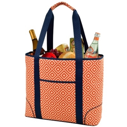 Picture of Picnic at Ascot XL Insulated Cooler Tote - Diamond Orange