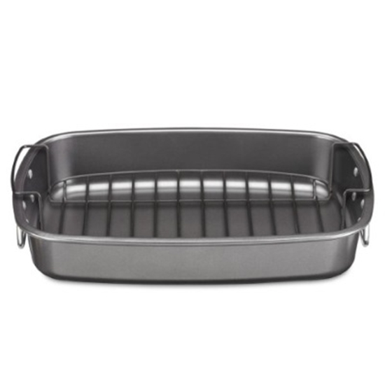 Picture of Cuisinart® Carbon Steel Non-Stick Roaster Pan with Rack