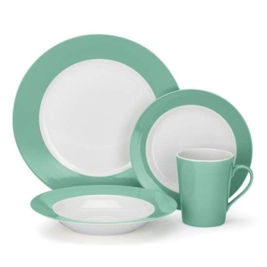 Picture of Cuisinart® Laurielle 16-Piece Porcelain Dinnerware Set