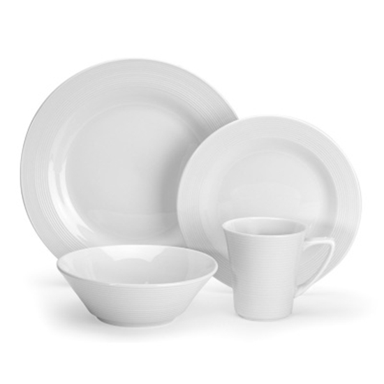 Picture of Cuisinart® Marne 16-Piece Porcelain Dinnerware Set