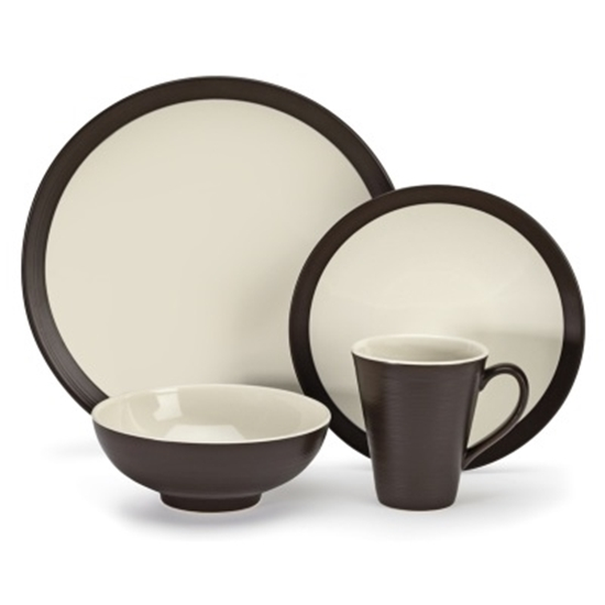 Picture of Cuisinart® Bailee 16-Piece Stoneware Dinnerware Set