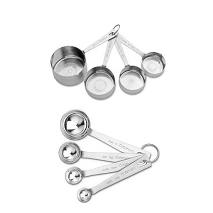 Picture of Cuisinart® Stainless Steel Measuring Cups & Spoons