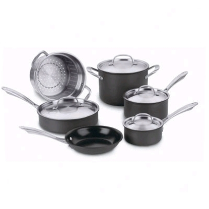 Picture of Cuisinart® Green Gourmet 10-Piece Cookware Set