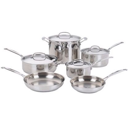 Picture of Cuisinart® Chefs Classic™ 10-Piece Cookware Set