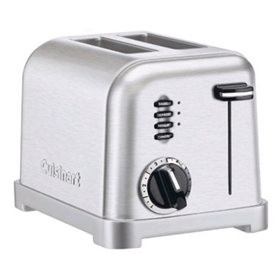 Picture of Cuisinart® Classic 2-Slice Toaster - Silver