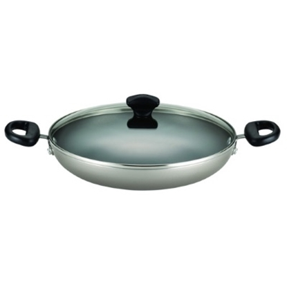Picture of Farberware Dishwasher Safe 11.25'' Everything Pan - Champagne