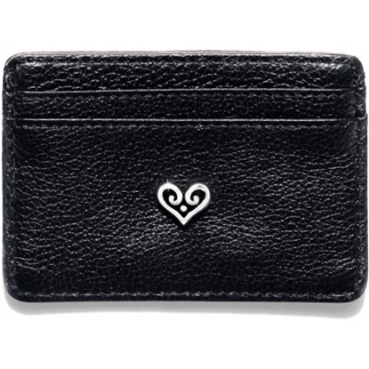 Picture of Brighton B Wishes Card Case - Black