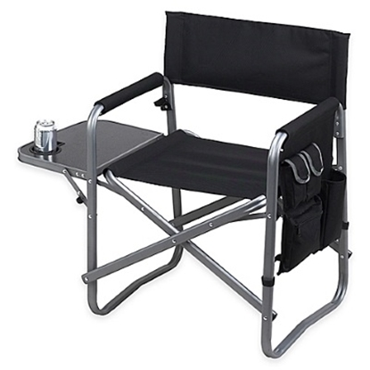 Picture of Picnic At Ascot Sports Chair with Table - Black/Set of 2