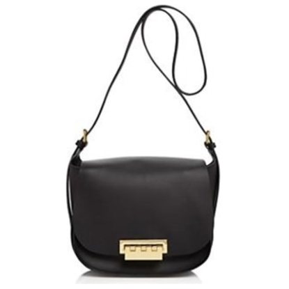 Picture of Zac Posen Eartha Iconic Saddle Bag - Black