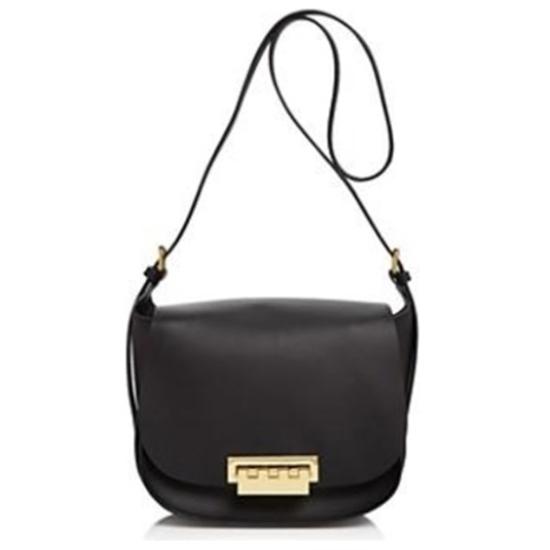 Picture of Zac Posen Eartha Iconic Saddle Bag - Black