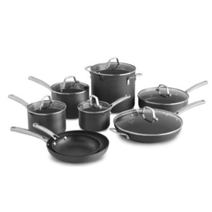Picture of Calphalon® Classic Nonstick 14-Piece Cookware Set