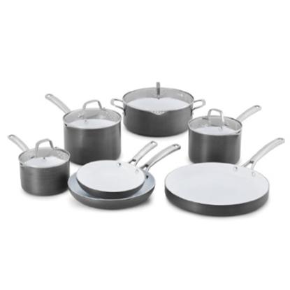 Picture of Calphalon® Classic Ceramic 11-Piece Nonstick Cookware Set