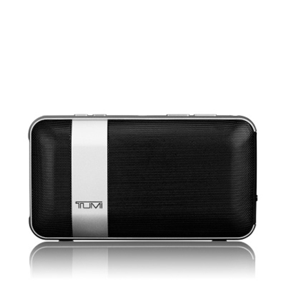 Picture of Tumi Wireless Portable Speaker with Powerbank - Black/Silver