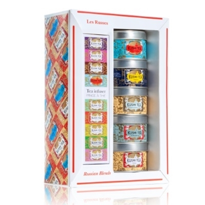 Picture of Kusmi Tea Russian Blends Gift Set