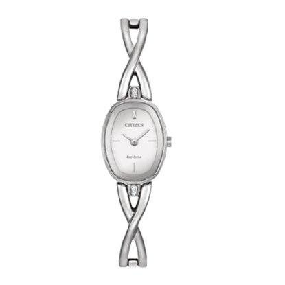Picture of Citizen Silhouette Bangle Stainless Steel Watch w/ Silver Dial