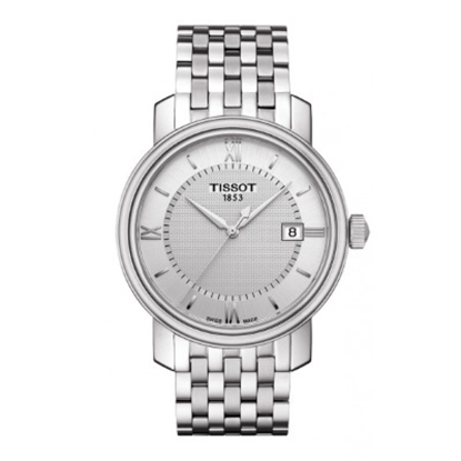 Picture of Tissot Bridgeport Silver Crystal Dial Stainless Steel Watch