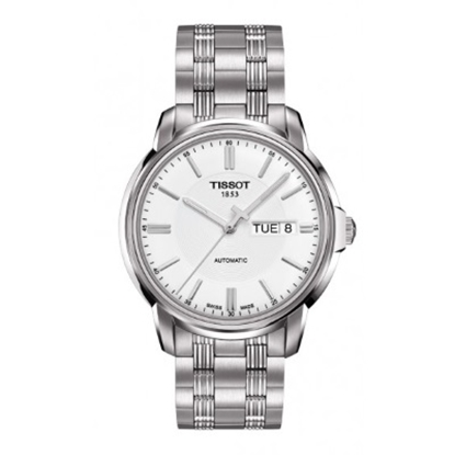 Picture of Tissot Automatics III Men's White Dial Stainless Steel Watch