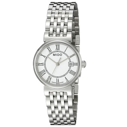 Picture of Mido Dorada Stainless Steeel Watch with White Dial