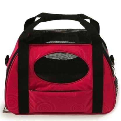 Picture of Gen7Pets™ Carry-Me Fashion Pet Carrier - Large/Raspberry