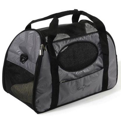 Picture of Gen7Pets Carry-Me Fashion Pet Carrier - Large/Gray Shadow